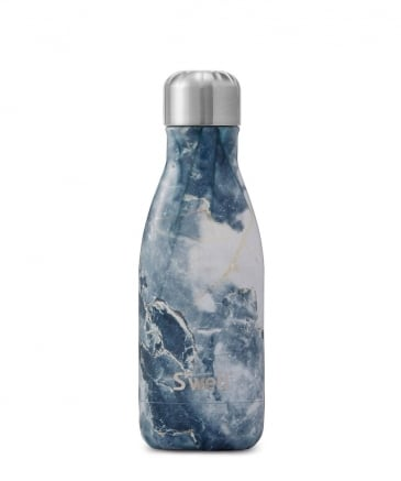 9oz Blue Granite Water Bottle