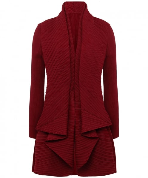 Thanny Pleated Waterfall Jacket