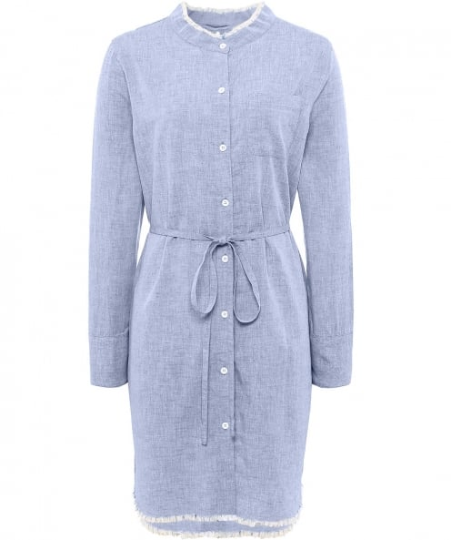 The Blue Shirt Shop Prince And Mott Denim Shirt Dress