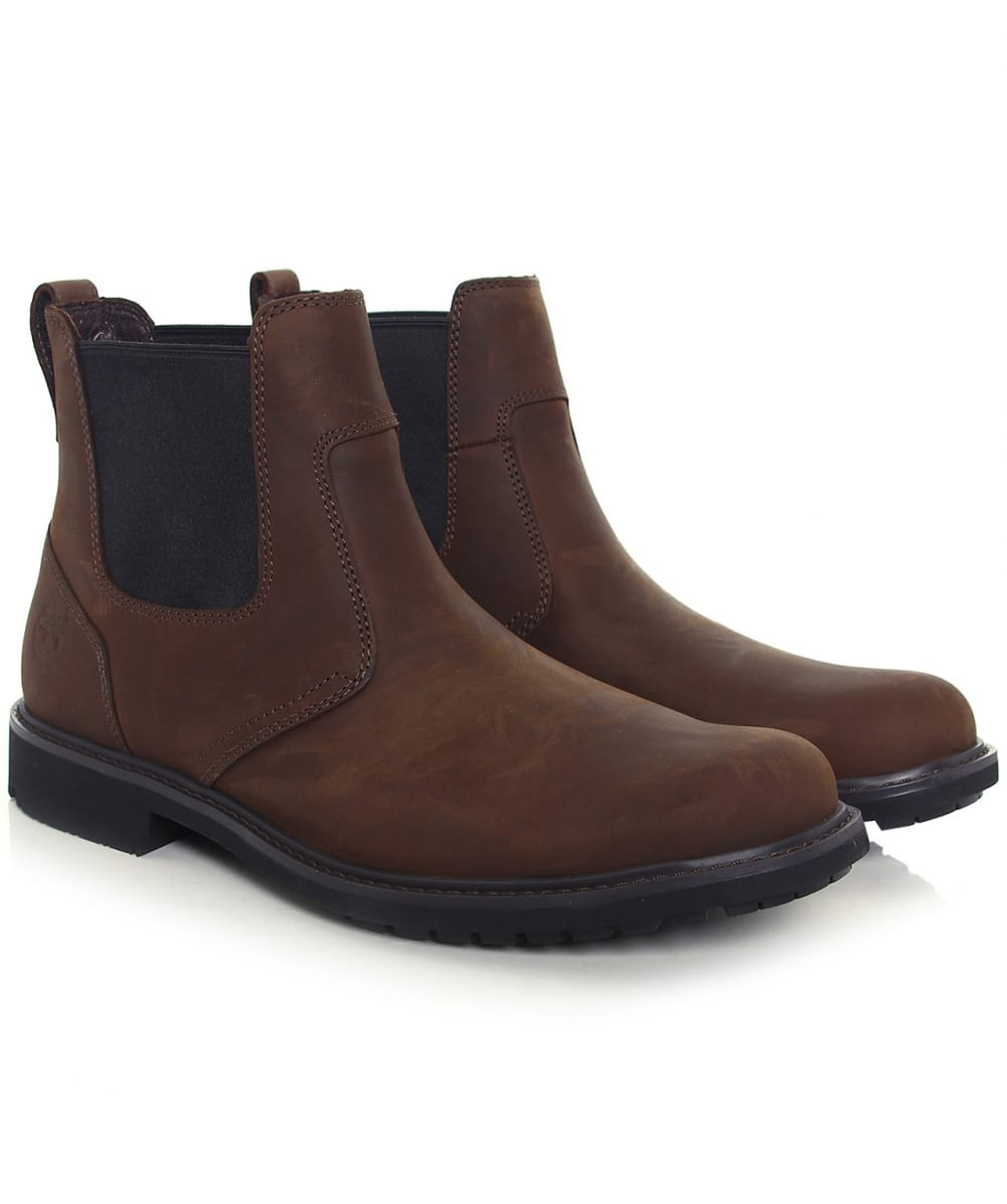 timberland earthkeepers chelsea boots brown