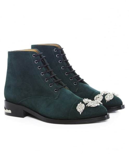 Toga Pulla Lace Up Suede Boots