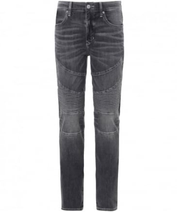 Skinny Fit Rocco Moto Jeans