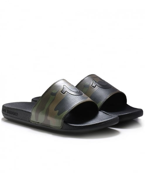 True Religion Slide Sandals