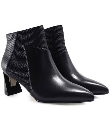 Zink Mid Height Ankle Boots