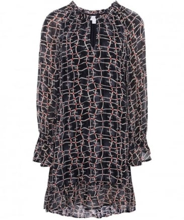 Chiffon Allegra Printed Dress