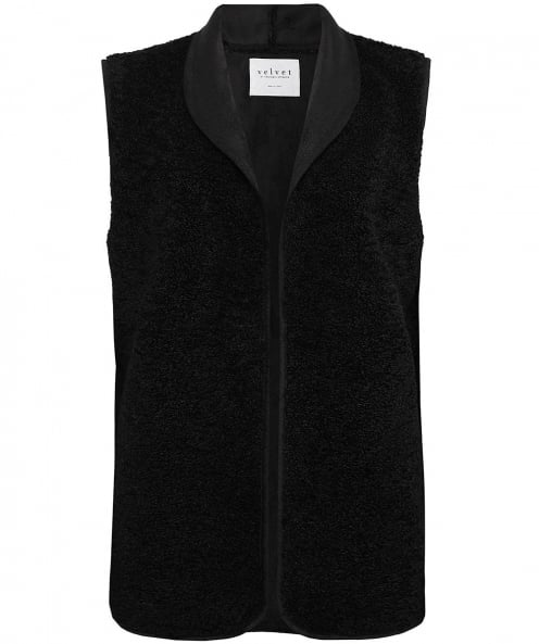 Velvet by Graham and Spencer Reversible Valetta Sheepskin Effect Gilet