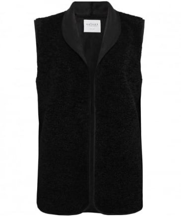 Reversible Valetta Sheepskin Effect Gilet