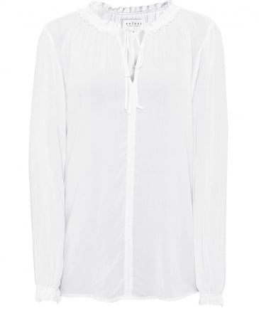 Samantha Neck Tie Blouse