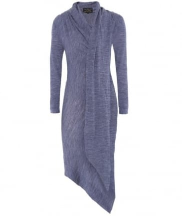Arro Wool Draped Dress