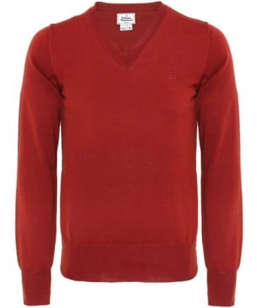 Classic V-Neck Wool Jumper