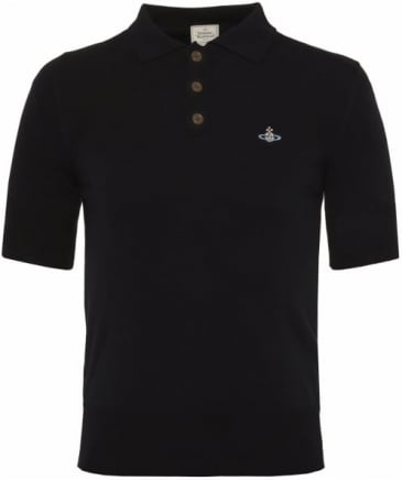 Knitted Short Sleeve Polo Shirt