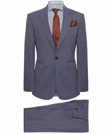 Slim Fit Wool James Suit