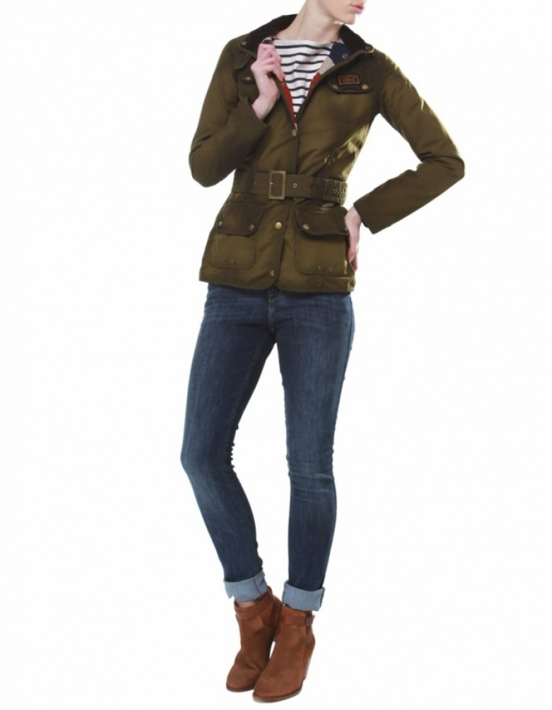 Barbour womens waxed jacket