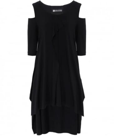 Ezra Cut Out Jersey Dress