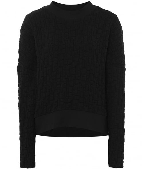 Xenia Design Textured Weave Bena Cropped Jumper