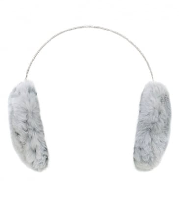 Glittered Fur Ear Muffs