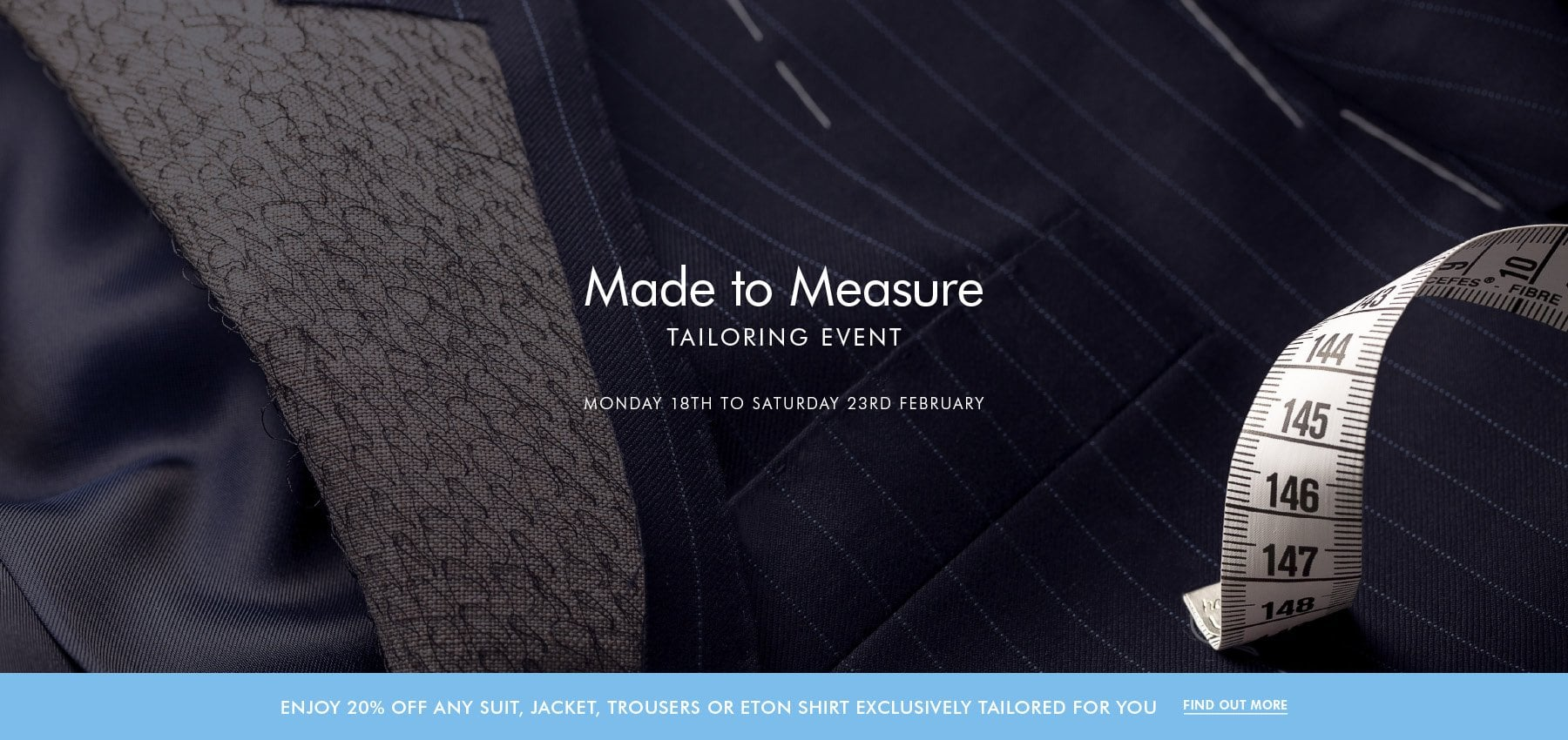 Made to Measure Tailoring Event