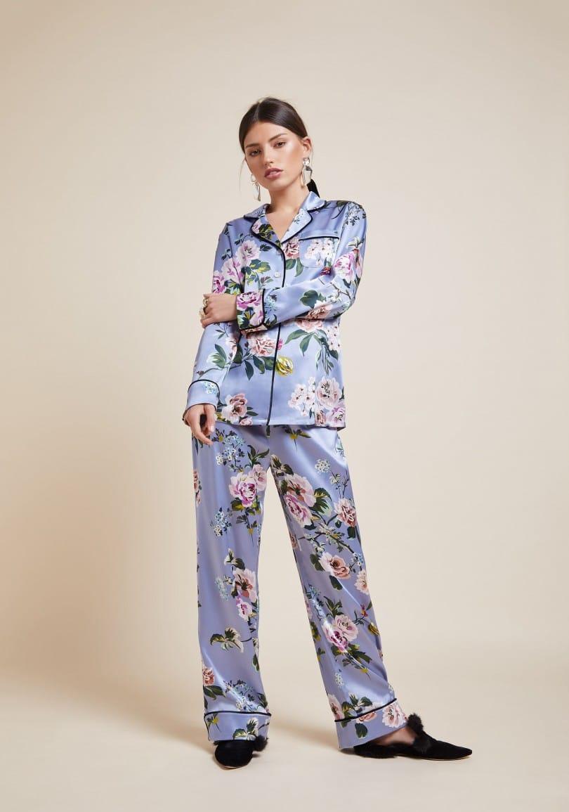 f515a9fae8 Choose opulent silk pyjamas from Olivia von Halle